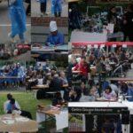Collage di momenti della festa 2013