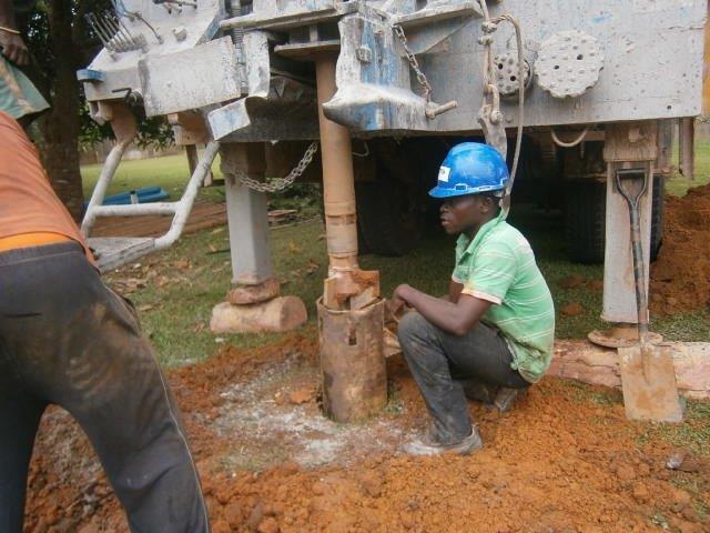 costruzione pozzo
