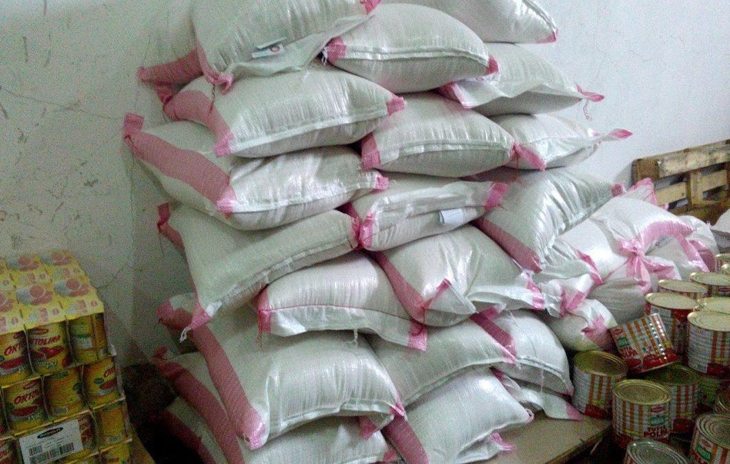 260 Kg di pasta in partenza per…..