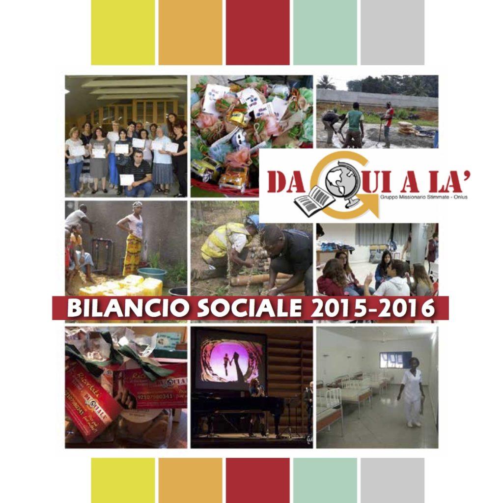 Biancio sociale 2015-2016