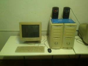 computer al laboratorio