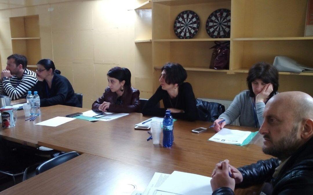 30 Ottobre – 6 Novembre 2017 Quinta formazione del Progetto prevenzione alcolismo in Georgia