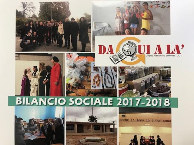 Pubblicato il bilancio Sociale 2017-2018