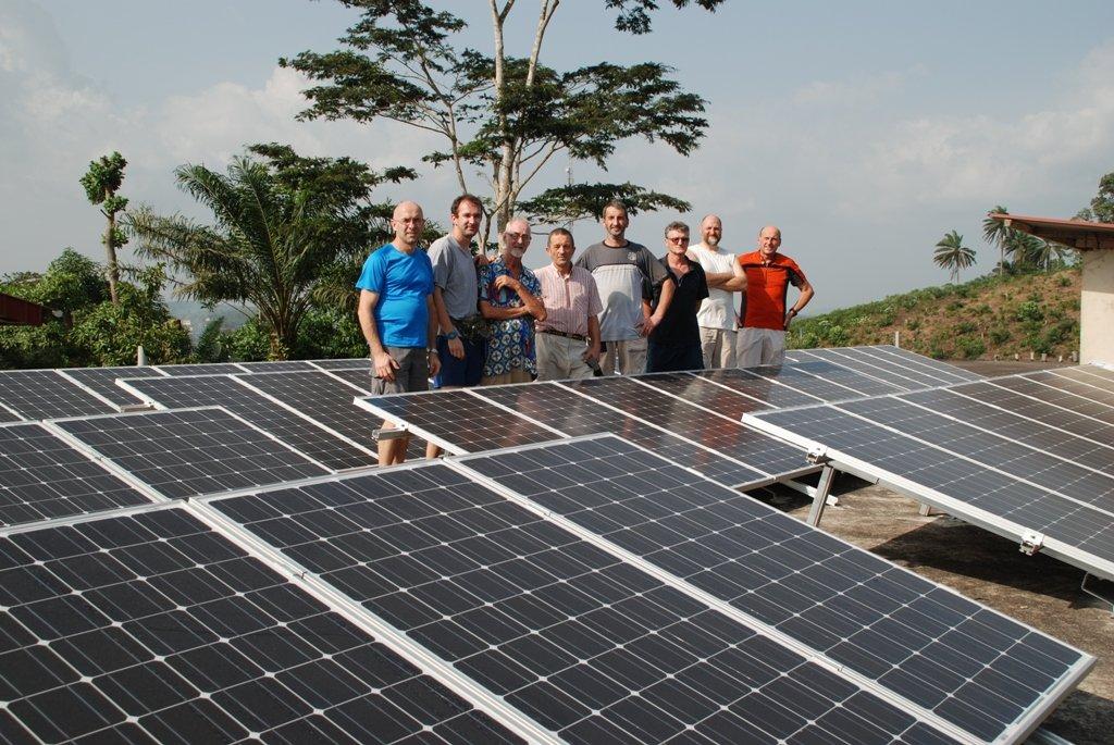 Concluso il progetto fotovoltaico di Radio Paix Sanwii
