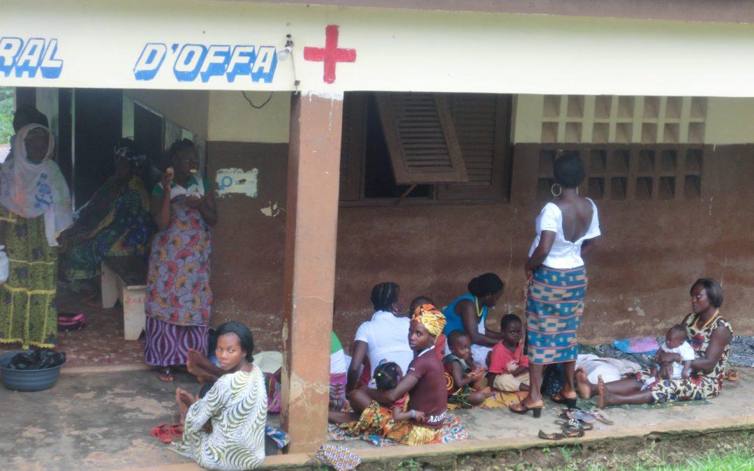 Dispensario di Offa: sale per la maternità