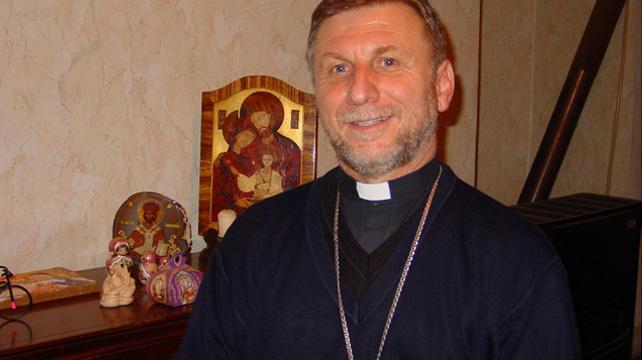 Monsignor Pasotto Vescovo della Georgia a Parma