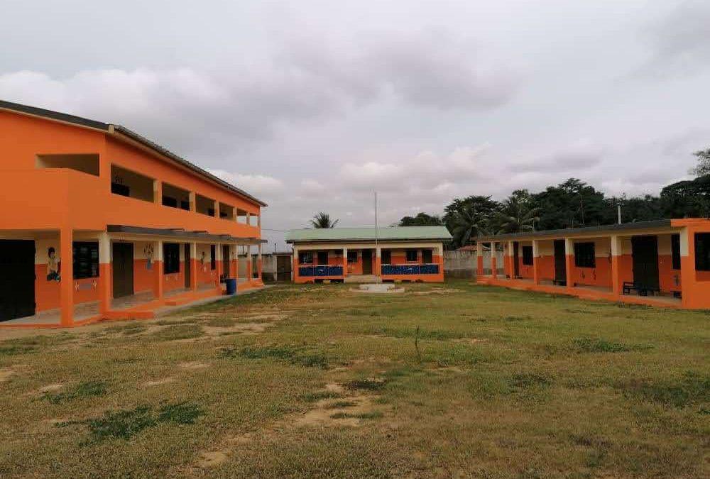 Scuola di Anyama: conclusi i lavori